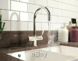 3 in 1 Instant Boiling Water Hot/Cold Water Kitchen Tap, Filter & Tank