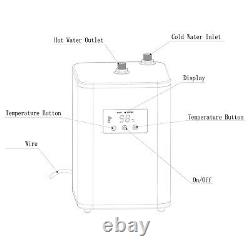 4 Way Instant Boiling Water Kitchen Tap Water Filter & Digital Heating Unit