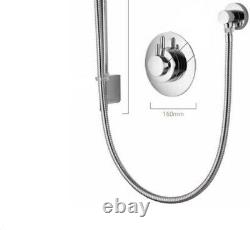 Aqualisa Dream Concealed Thermostatic Shower & Adjustable Head Chrome DRM001CA