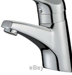 Commercial Solo Thermostatic Basin Sink Long Lever 150mm Mixer Tap TMV TMV3 WRAS