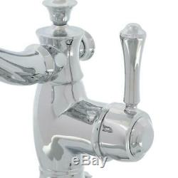 DELTA Cassidy Single Hole Single-Handle Bathroom Faucet with Metal Drain Assembl