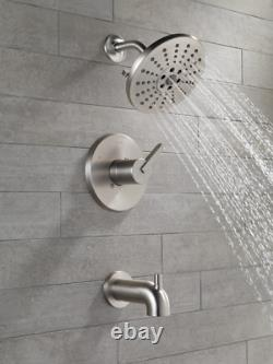 Delta 144769-SP ALUX Monitor 14 Series Tub & Shower Trim with Rough-In Valve