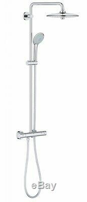 GROHE 27296 002 Euphoria System 260 Thermostatic Bar Shower 2 Outlets Diverter