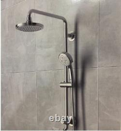 GROHE Vitalio 5-spray 7 in. Dual Shower Head and Handheld Shower Head in Chrome