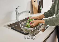 Grohe 30 306 Eurosmart Pull-Out Spray Kitchen Faucet Chrome