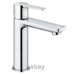 Grohe Lineare Tall S-size Modern Single Lever Basin Mixer Tap Deck Mounted New