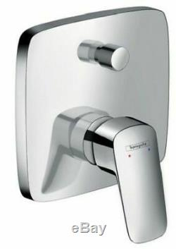 HANSGROHE LOGIS Concealed Shower Mixer Kit with Slim Rainfall Head 8in1 Set