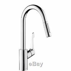 Hansgrohe Cento XL Pull-Out Spray Kitchen Tap Single Lever New