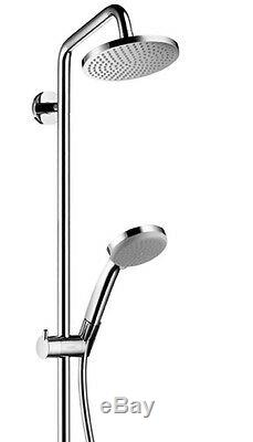 Hansgrohe Croma Round 160 Exposed Shower Thermostatic Mixer Valve Kit 27135000