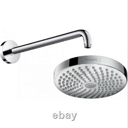 Hansgrohe Croma Select S Shower System Ecostat S Thermostatic 2 Way Mixer 27295