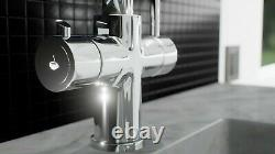 Lavatap 3-in-1 Instant Hot Cold Boiling Water Kitchen Tap Tank Polished Chrome