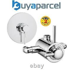 Modern Exposed Concealed Thermostatic Shower Mixer Valve with Adjustable Centers