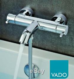 Vado Celsius Zoo Thermostatic Bath Shower Bar Valve Tap Mixer Wall Mounted TMV2